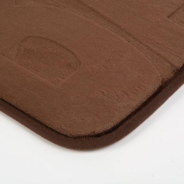 Badmat Toiletmat bruin 60x40 CM