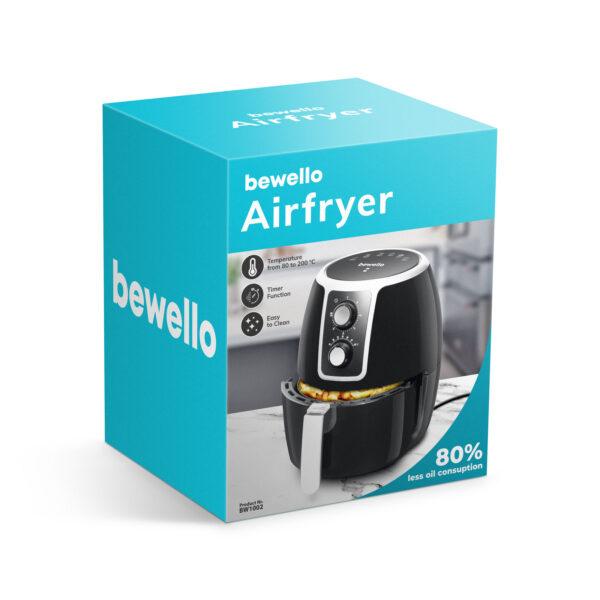 Airfryer XL Bewello 3.7 Liter