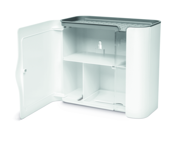 toiletrolhouder met magneetsluiting