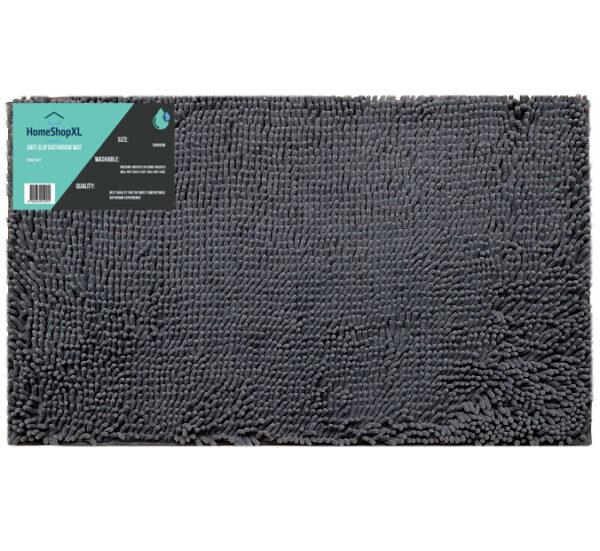 Antislip badmat 50x80 grijs