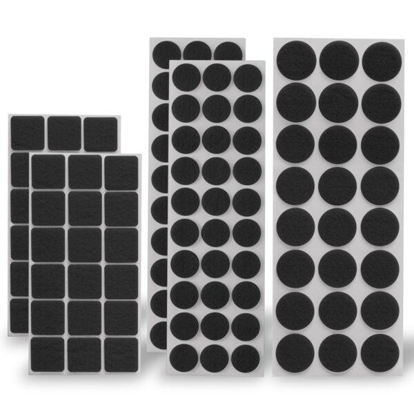 Meubelvilt Zwart 120 stuks
