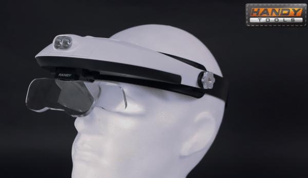 Loep Vergrootglas Bril met Verlichting