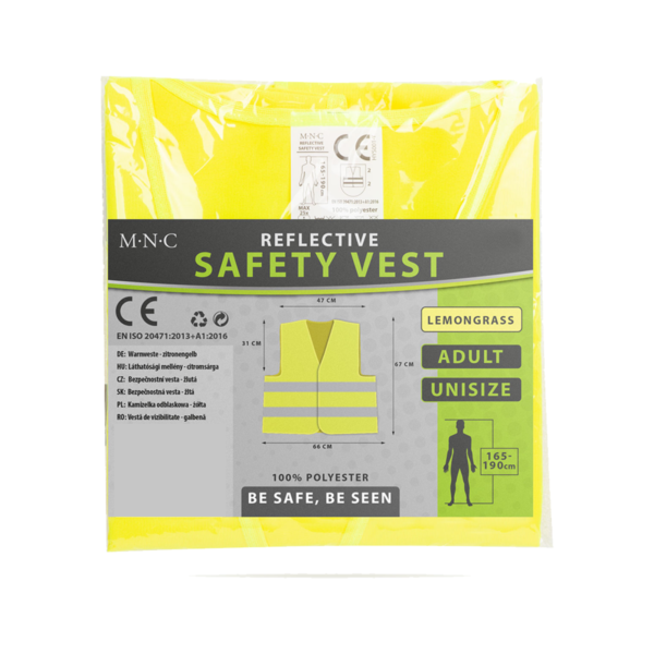 Veiligheidshesje geel Hesje