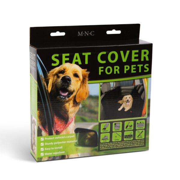Autobeschermer Hond Stoelbeschermer Zwart Auto
