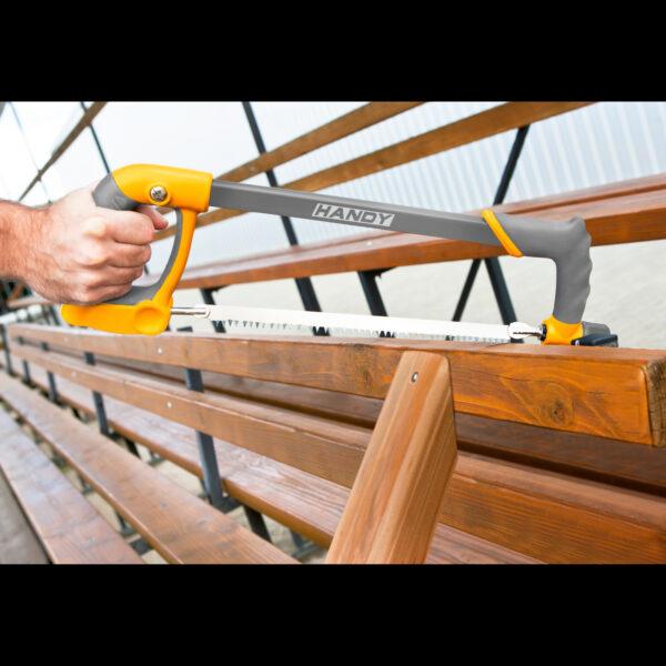Universele beugelzaag voor hout metaal