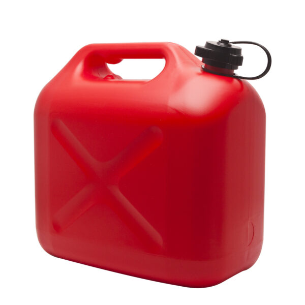 Jerrycan 10 Liter Rood kunstof
