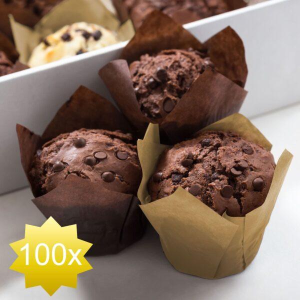Muffin Bakvorm Papier