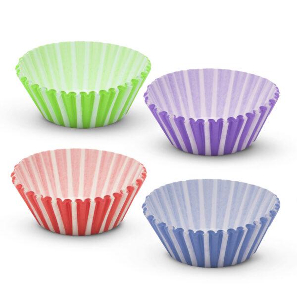 Muffin Vormpjes Papier 100 Stuks Gekleurd