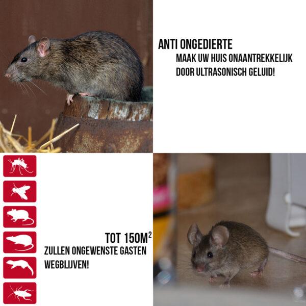Elektronische Ultrasone Muizenverjager