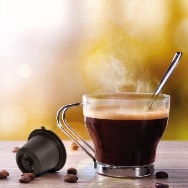 hervulbare koffiecups Nespresso