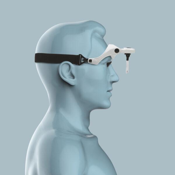 Loepbril met verlichting Vergrootglas met Licht