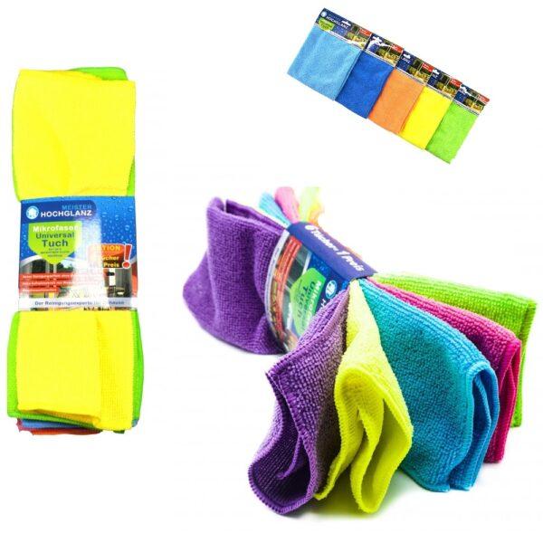 Microvezeldoekjes 5 stuks Schoonmaakdoekjes Vaatdoeken