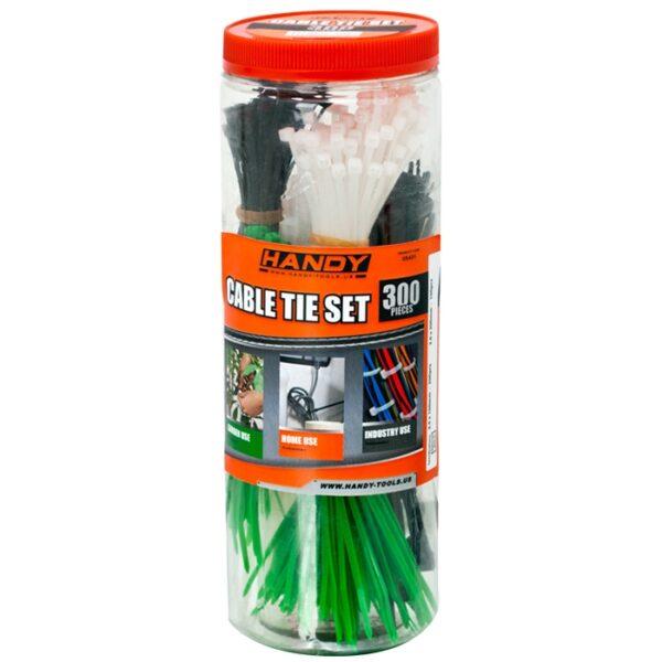 Handy Kabelbinders in Koker Tiewraps