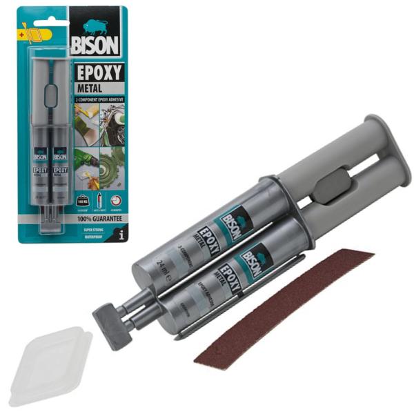Epoxylijm Metaal Lijm 2 componenten BISON Epoxy