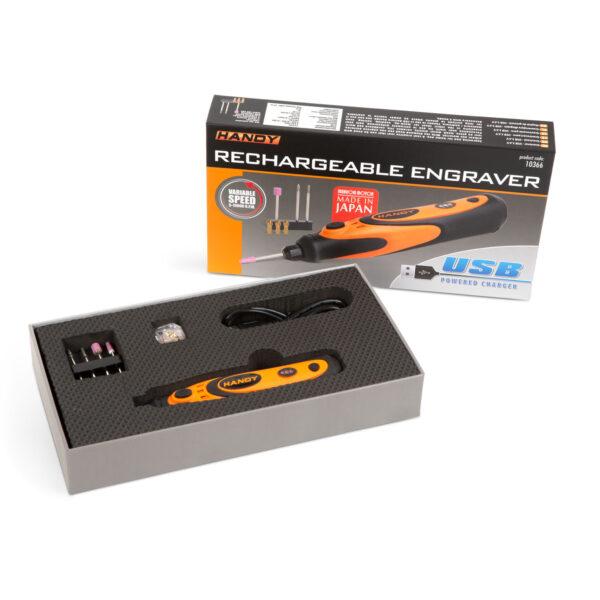 Handy Graveerpen USB oplaadbaar Graveermachine Draadloos Afbramen Frees